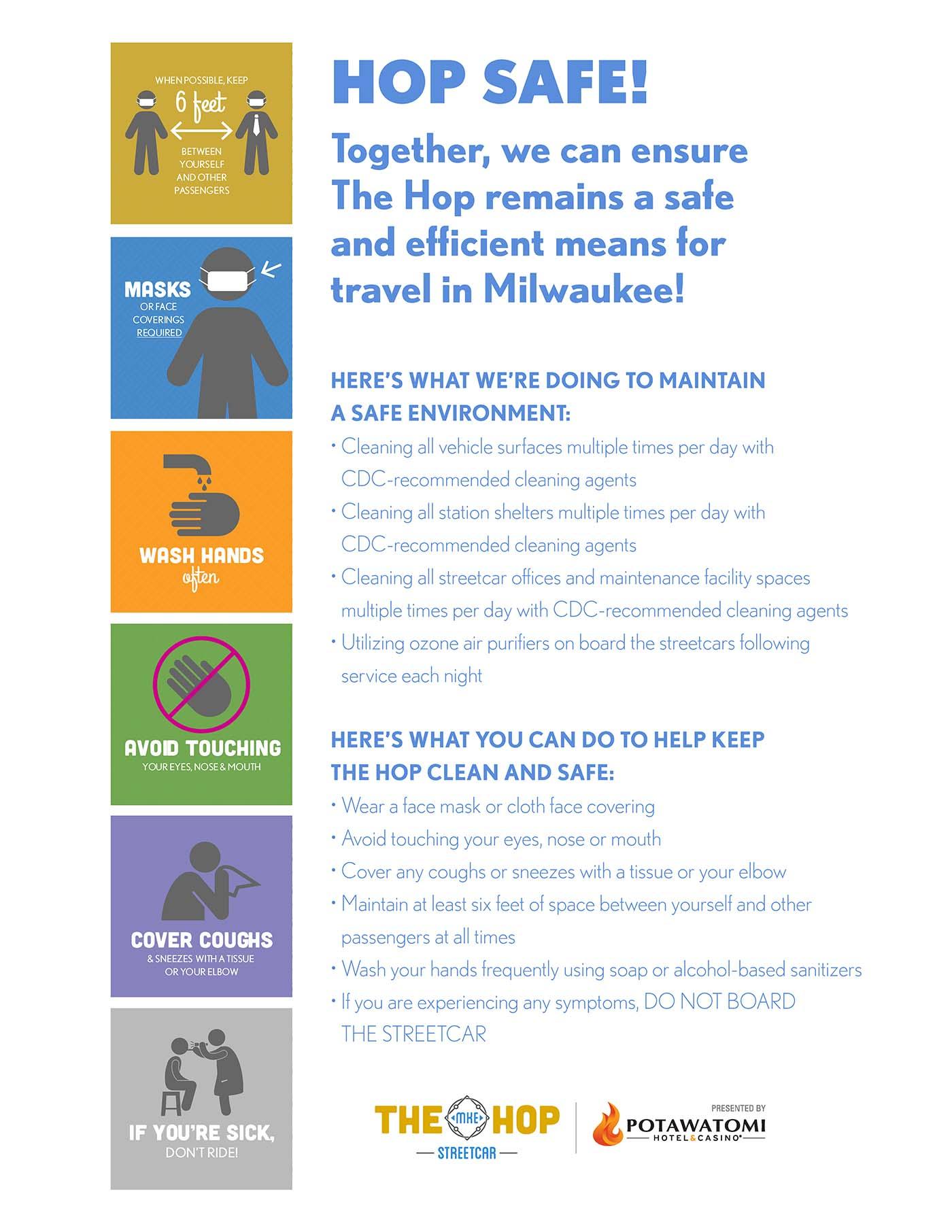 Hop covid-19 poster