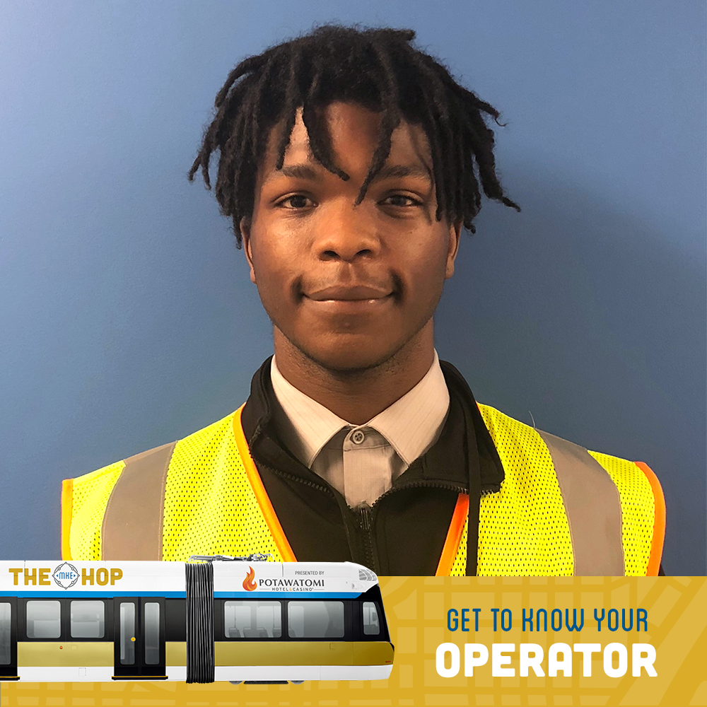 Get To Know Your Operator - Ventson Jones Jr.